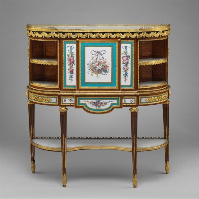 Attributed to Martin Carlin, 'Drop-front desk (secrétaire à abattant or secrétaire en cabinet)', ca. 1776, The Metropolitan Museum of Art