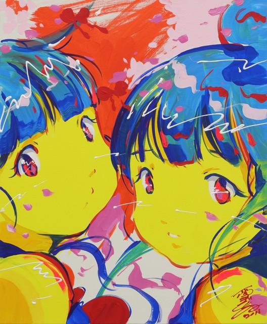 Kato Ai, 'live painting 3', 2018, Mizuma Art Gallery
