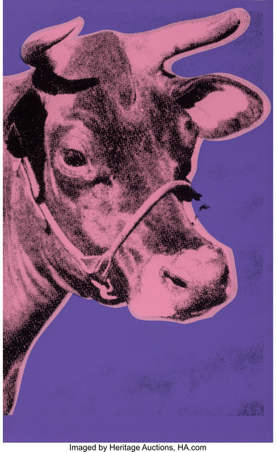 Andy Warhol, 'Cow', 1976, Heritage Auctions