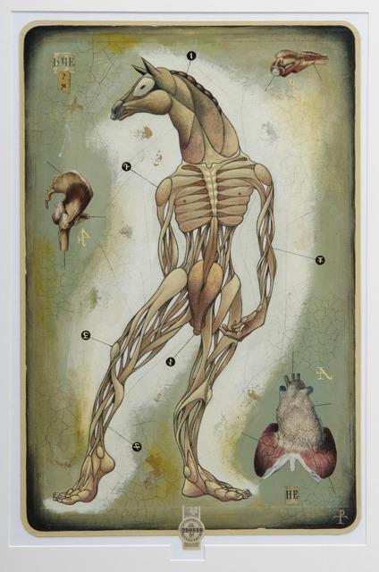 , 'Horseman,' 2008, Hieronymus