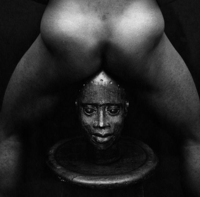 , 'Bronze Head,' 1987, Hales Gallery
