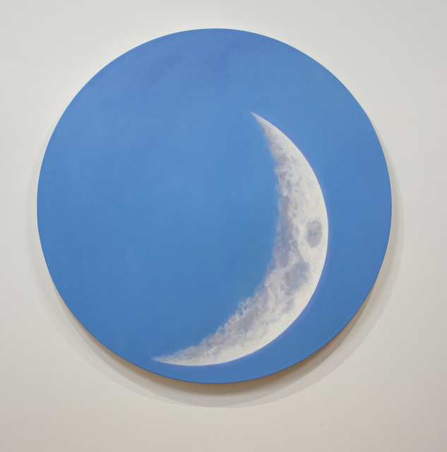 , 'Crescent Day Moon,' 2017, Michael Gibson Gallery