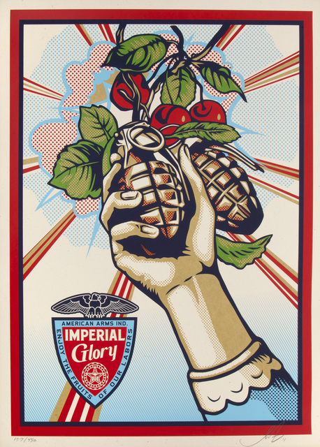 Shepard Fairey (OBEY), 'Imperial Glory', 2011, Julien's Auctions