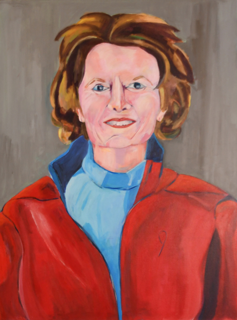 , 'The Lisa Painting Becomes Voting 'No' on Kavanaugh,' 2010, Pleiades Gallery
