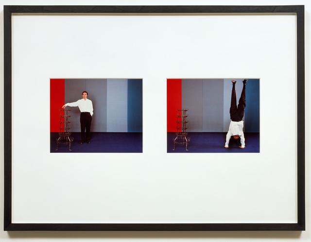 Jan Vercruysse, 'Camera Oscura #10 (A man with a white shirt)', 2002, Vistamare/Vistamarestudio