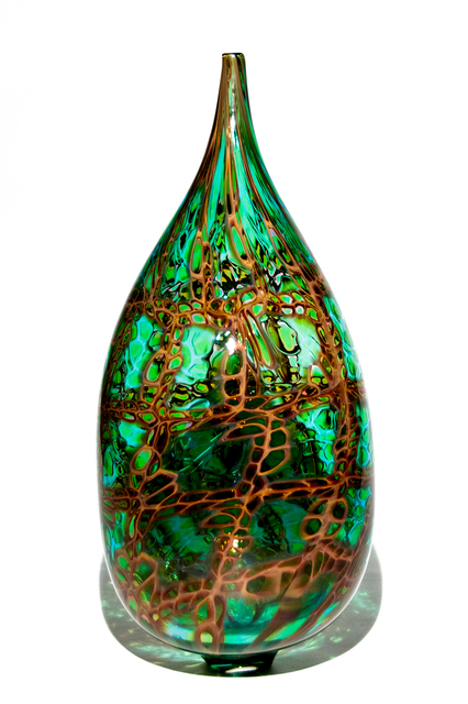 , 'Emerald Earth Bottle,' 2017, Murano Midwest