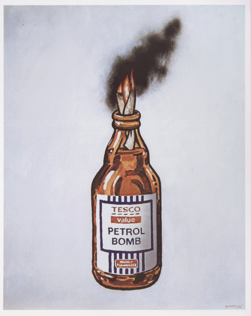 Banksy, 'Tesco Value Petrol Bomb', 2011, Tate Ward Auctions