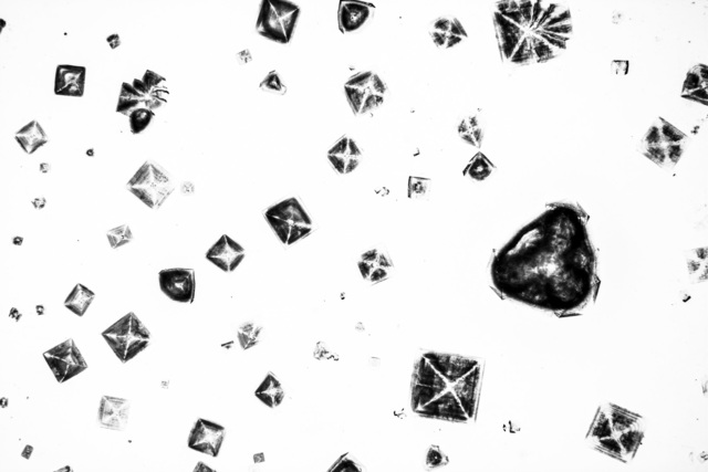 , 'Salt Crystals,' 2013, AiR - Art in Research