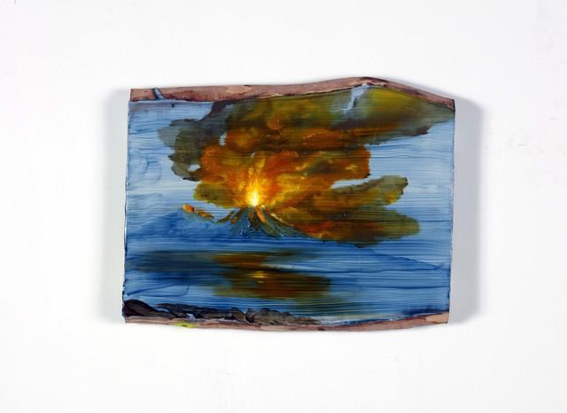 , 'Landscape and Vesuvio and fire,' 2018, Alfonso Artiaco