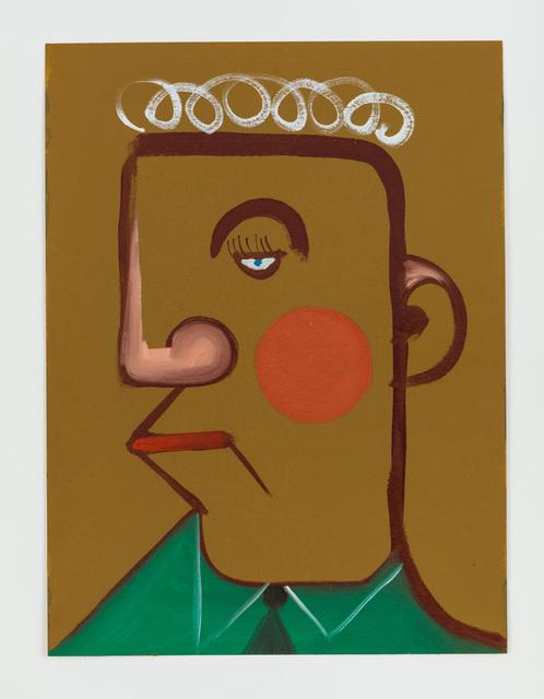 , 'Untitled (George Baselitz irgendwie),' 2014, Rachel Uffner Gallery