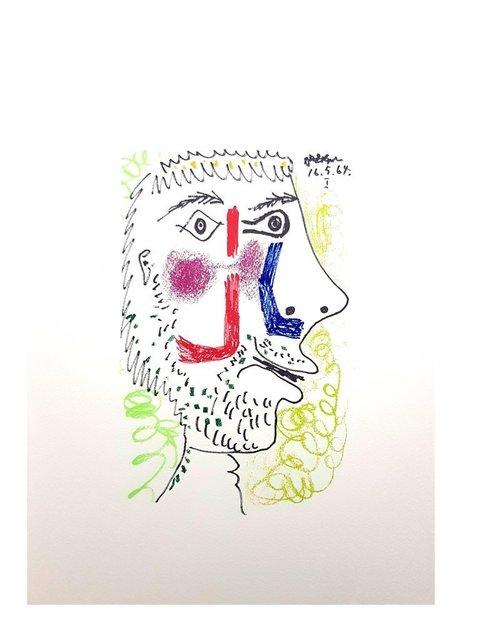 """Pablo Picasso, 'Lithograph """"Le Goût de Bonheur XII"""" after Pablo Picasso', 1970, Galerie Philia"""