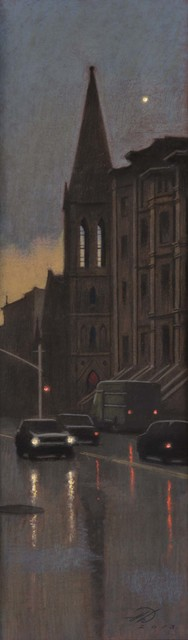 , 'Rainy Evening, 7th Avenue,' 2013, Gerald Peters Gallery