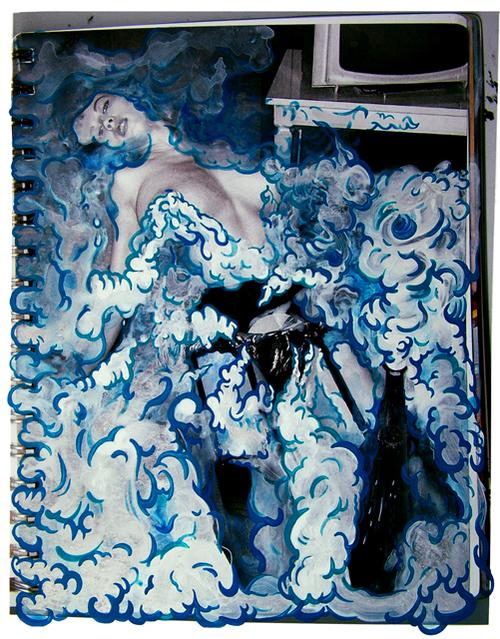, 'Blue Bubble Girl,' 2011, Powen Gallery