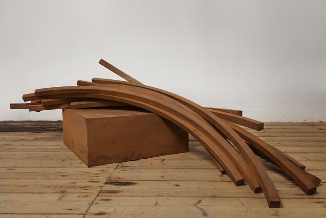 , 'Arcs in Disorder: 82,5º Arc x 11,' 2014, Galería Cayón