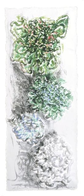 Lynda Benglis, 'Color Echoes', 2000, Mixografia