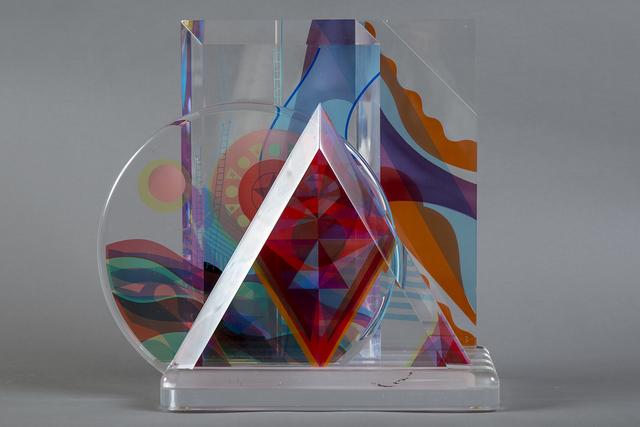 Yankel Ginzburg, 'Original Acrylic Sculpture - Signed', 1989, Sculpture, Acrylic, Modern Artifact