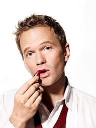 Neil Patrick Harris with Lipstick