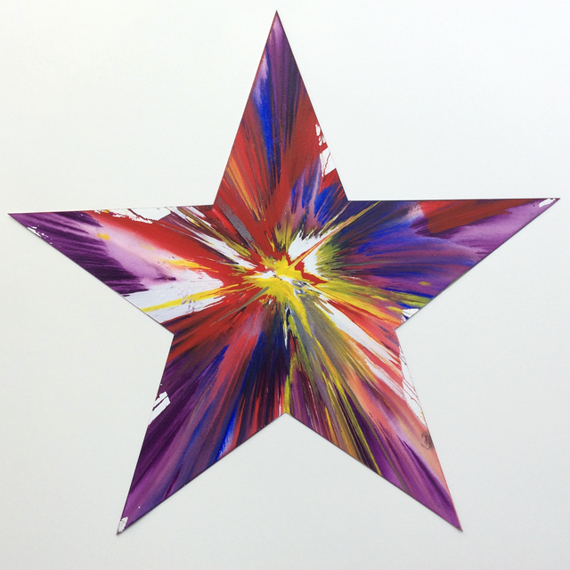Damien Hirst, 'Star (original spin painting)', 2009, Joseph Fine Art LONDON