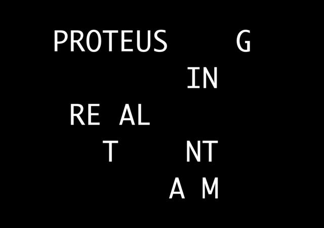 , 'Proteus,' 2010, Arcade
