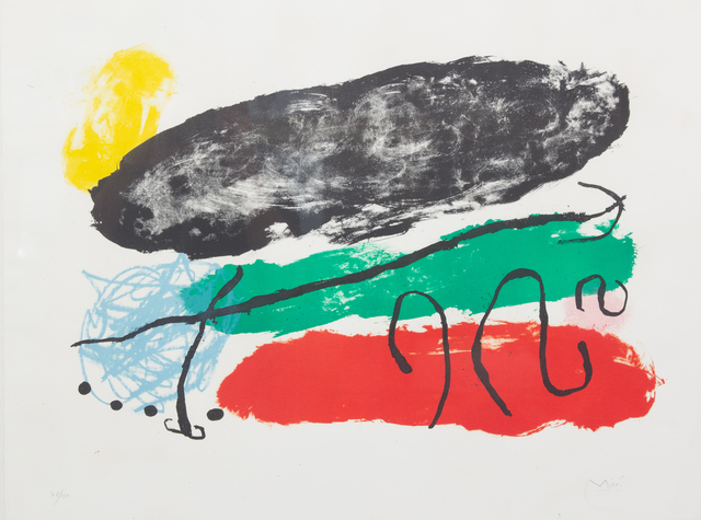 Joan Miró, 'L'Astre Patagon (from Derrière le Miroir)', 1960, Hindman
