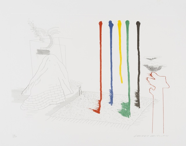 David Hockney, 'I Say They Are (from The Blue Guitar) (MCA Tokyo 193)', 1976-1977, Forum Auctions