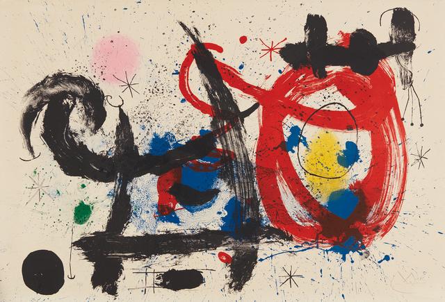 Joan Miró, 'Le Cheval ivre (The Drunken Horse)', 1964, Phillips