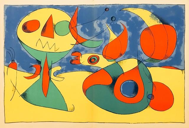 Joan Miró, 'From 'Derrière le Miroir - Joan Miró, Artigas'', 1956, Eames Fine Art