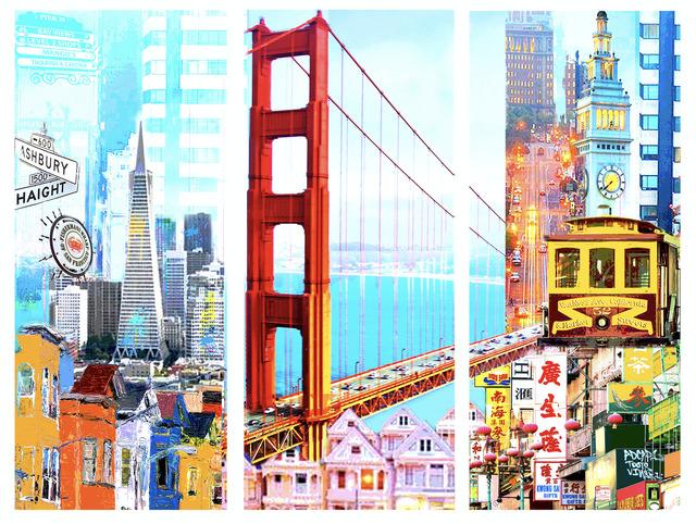 Dganit Blechner, ' I Love San Francisco', GFA506, Gefen Fine Art