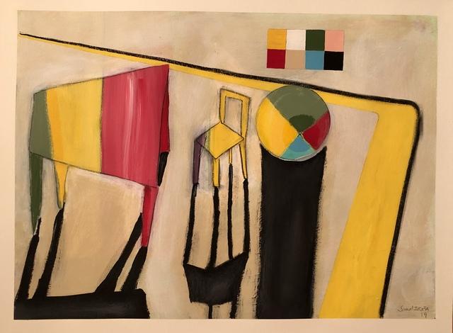 , 'Yellow Chair,' 2019, Imlay Gallery