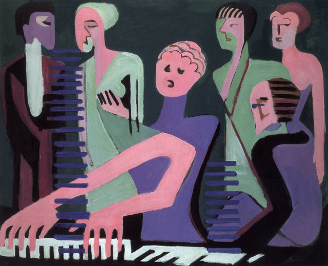 , 'Sängerin am Piano,' 1930, Henze & Ketterer