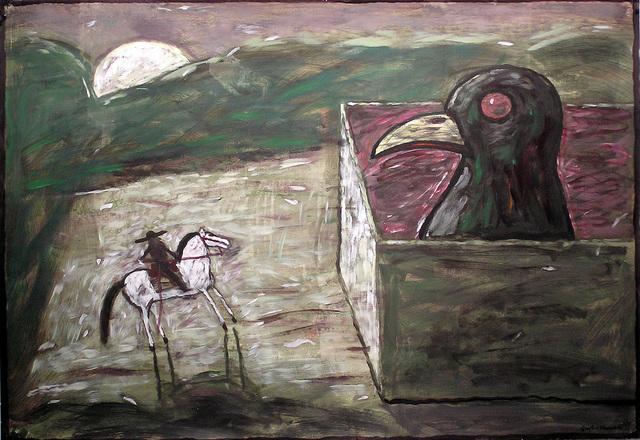 , 'Kernal and Bird,' 2002, Linda Hodges Gallery