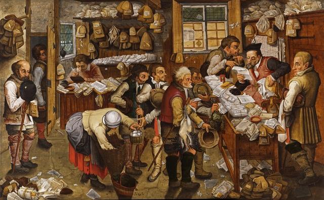, 'The Peasant Lawyer,' 1616, Koetser Gallery