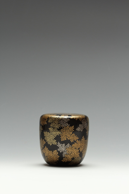 , 'Ferns Tea Caddy,' Taisho era (1912, 26), ca. 1920's, Erik Thomsen
