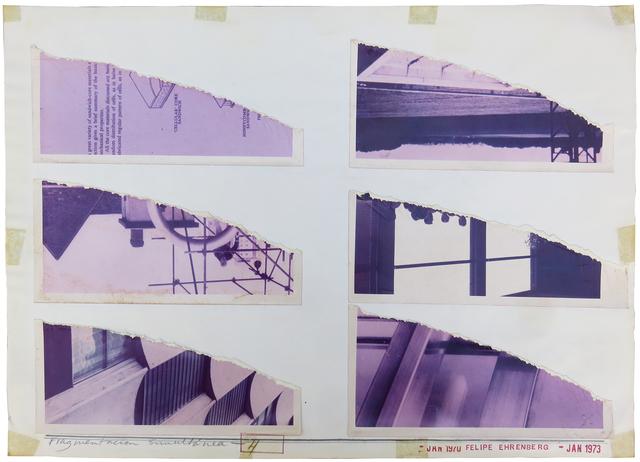 , 'Fragmentación simultánea #4,' 1973, Baró Galeria
