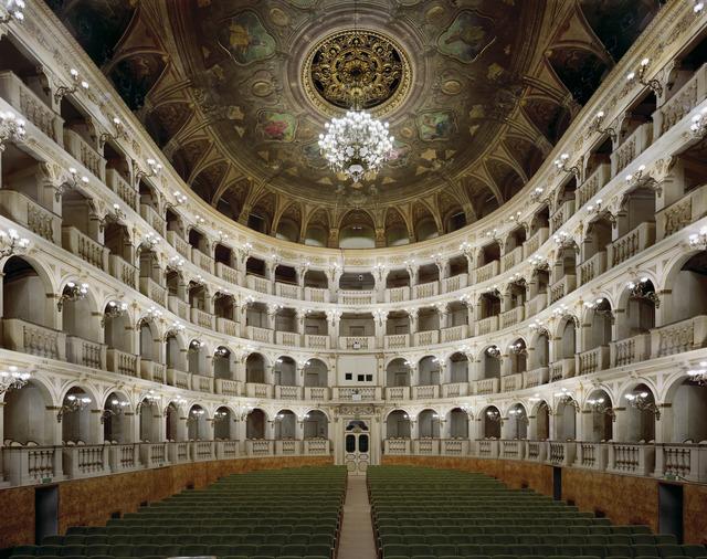 David Leventi, 'Teatro Comunale di Bologna, Bologna, Italy', 2010, Photography, Digital chromogenic print, mounted to Dibond, Rick Wester Fine Art
