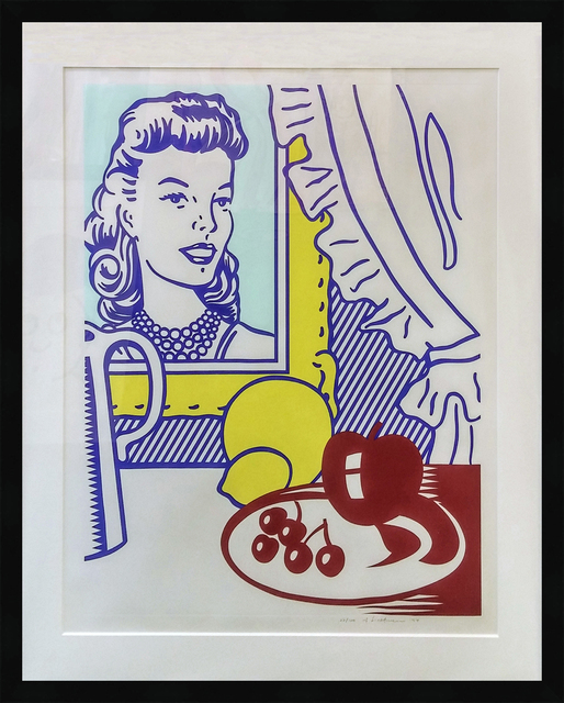 Roy Lichtenstein, 'STILL LIFE WITH PORTRAIT', 1974, Print, LITHOGRAPH & SCREENPRINT IN COLORS WITH DEBOSSING, Gallery Art