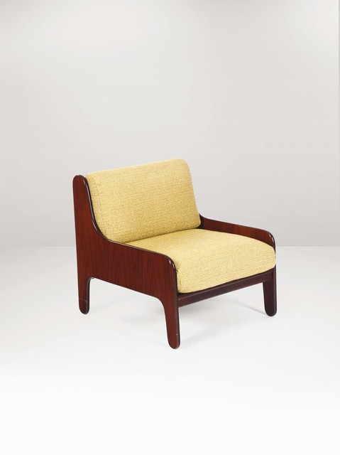 Marco Zanuso, 'A Baronet armchair with a wooden structure and fabric upholstery', 1960 ca., Cambi