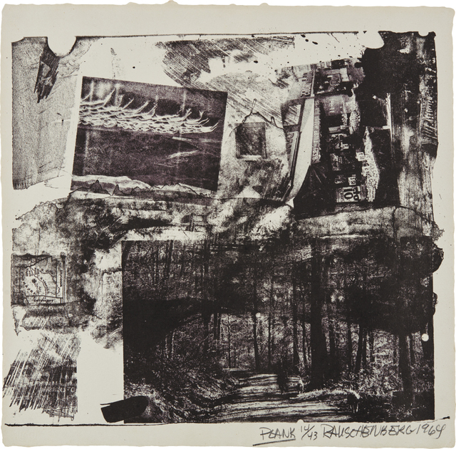 Robert Rauschenberg, 'Plank, from XXXIV Drawings for Dante's Inferno', 1964, Phillips