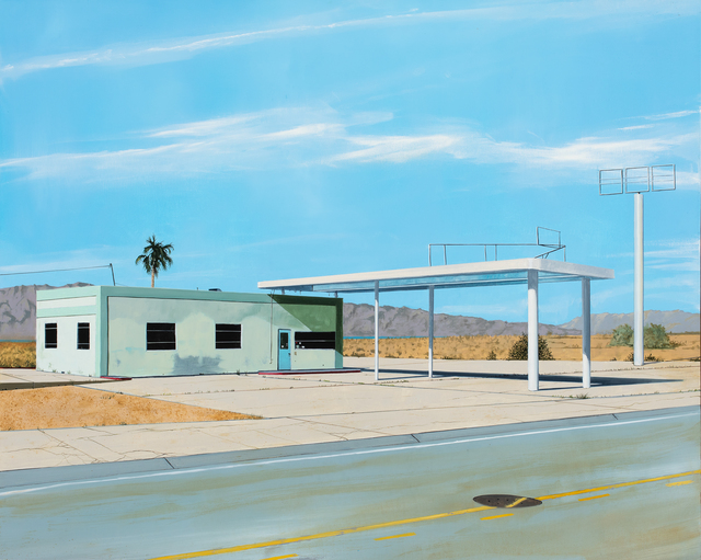 , 'Salton Sea Gas Station,' 2019, Russo Lee Gallery