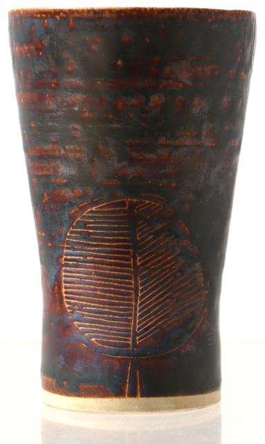 , 'Early Scraffito Vase with Roman Bathtub Leaf Design,' , Jeffrey Spahn Gallery