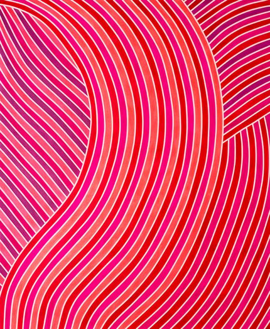 , 'Pink Clash,' 2017, Carter Burden Gallery