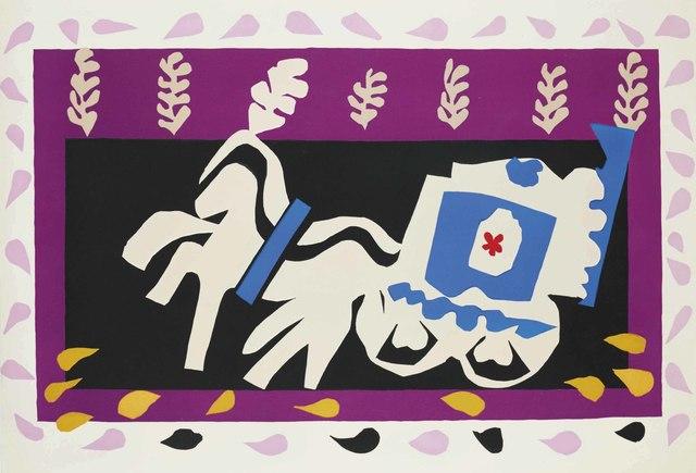 Henri Matisse, 'L'enterrement de Pierrot, from: Jazz', 1947, Christie's