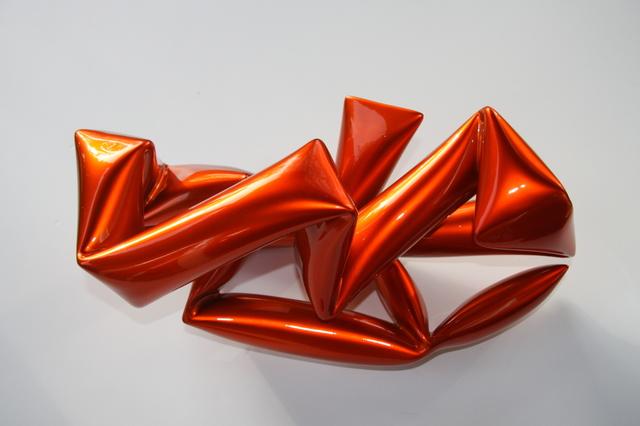 , 'Wall object (orange),' 2017, Bluerider ART