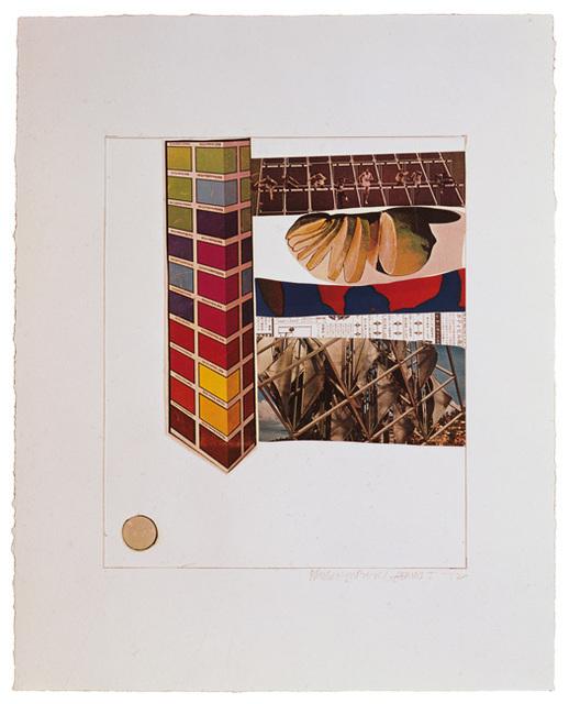 Robert Rauschenberg, 'Horsefeathers Thirteen - IV', 1972, Upsilon Gallery