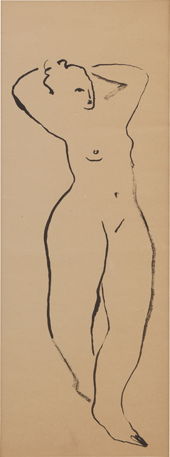 Sanyu, 'Standing Nude with Raised Arms', Phillips