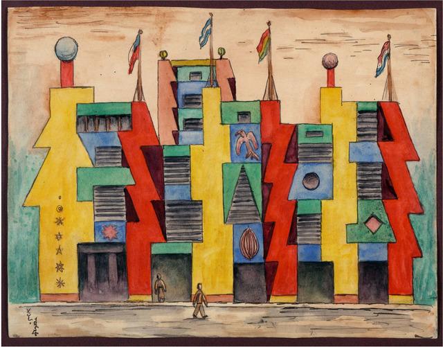 , 'Proyecto Ciuda,' 1954, Galería Rubbers Internacional