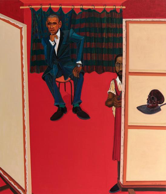 Richard Mudariki, 'Red Studio I', 2018, Barnard