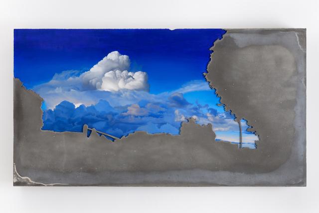 Matias Mesquita, 'Untitled', 2015, Sculpture, Oil on cement slab, Zipper Galeria