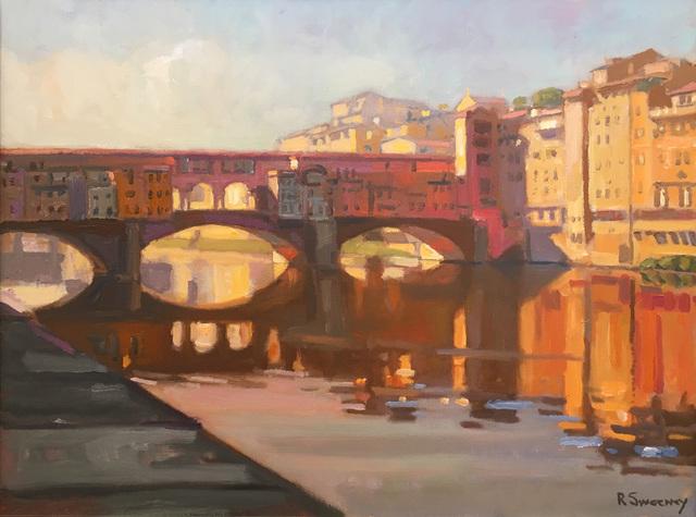 , 'Ponte Vecchio,' 2017, William Baczek Fine Arts