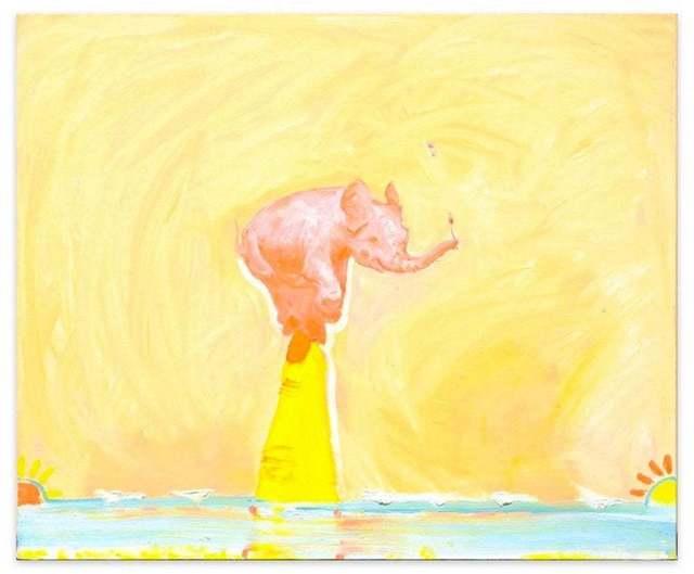 Anastasia Kurakina, 'Pink elephant', 2019, Wallector